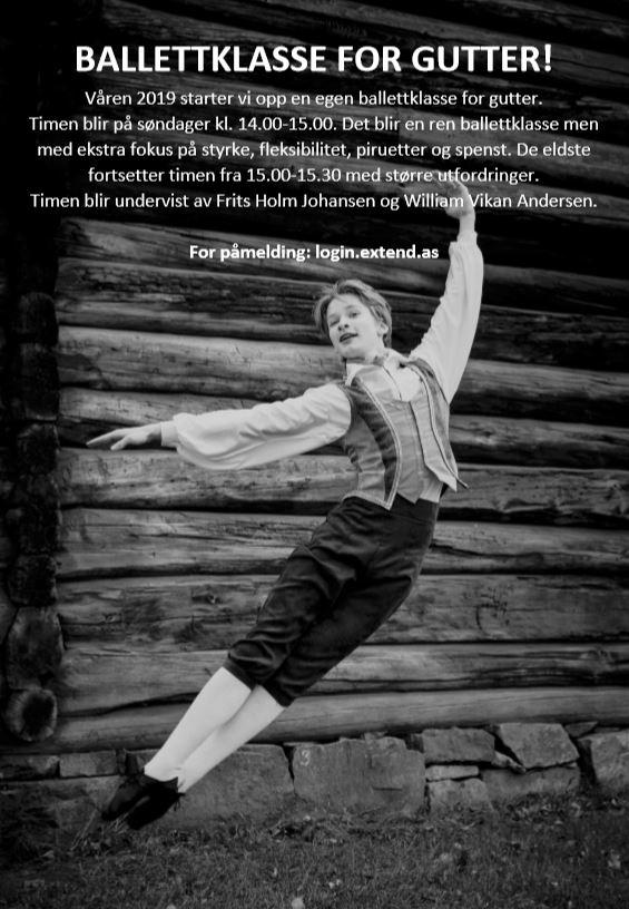 Ballettklasse For Gutter!