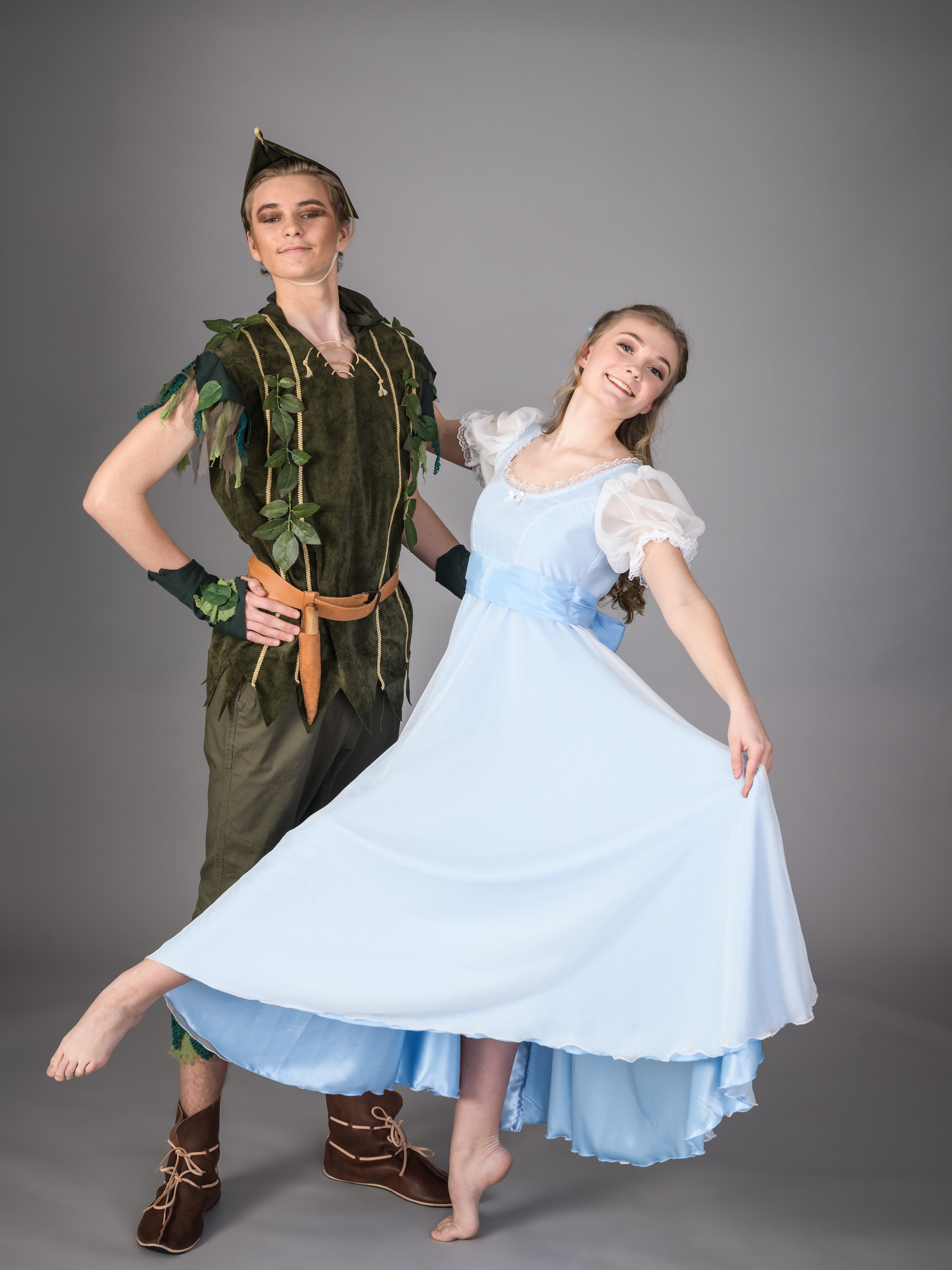 Sminkelapp Til Peter Pan Og Wendy.
