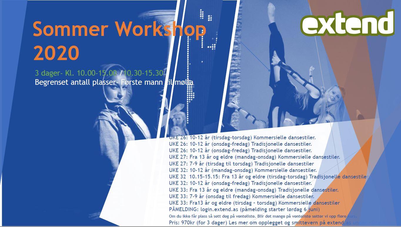 Sommer Workshop På Extend 2020.
